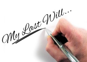 handwriting My Last Will