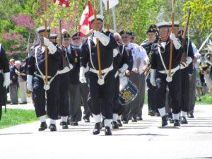 military veteran parade