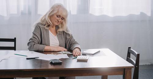 elderly budget